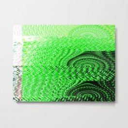 Churning Metal Print
