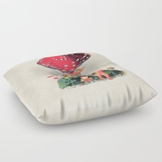 Shroom Girl Floor Pillow