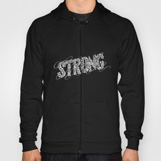 STRONG (White type) Hoody