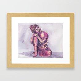 Dreamy Buddha Framed Art Print