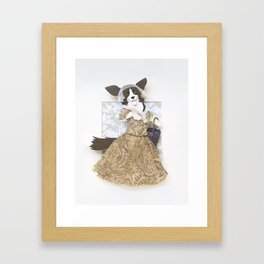 Cardigan Welsh Corgi Framed Art Print
