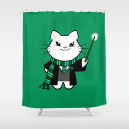 Wizardkitty Snake House! Shower Curtain