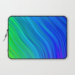 stripes wave pattern 1 stdv Laptop Sleeve