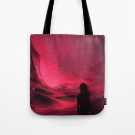 Pink plains Tote Bag