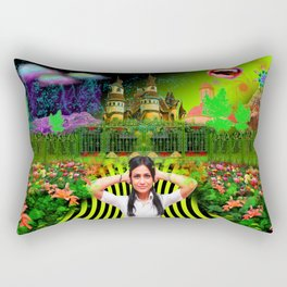 The Bipolar Kingdom Inside My Head Rectangular Pillow