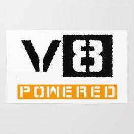 V8 powered yellow Rug