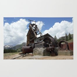 Exploring the Longfellow Mine of the Gold Rush - A Series, No. 2 of 9 Rug