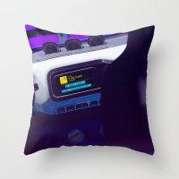 volkswagen Throw Pillows featuring Volkswagen Taigun inside by Mauricio Santana