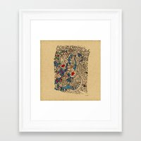 medieval Framed Art Prints featuring - medieval - by Magdalla Del Fresto