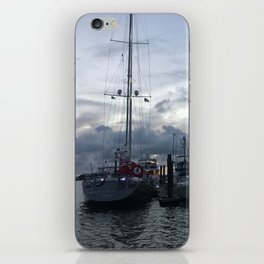 Beaufort NC Water front iPhone Skin