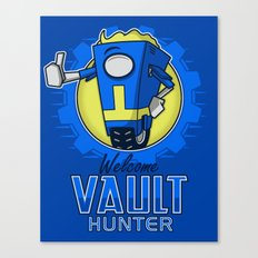 Welcome Vault Hunter! Canvas Print