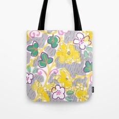 Yellow Mums Tote Bag