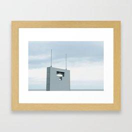 NORMANDY V Framed Art Print