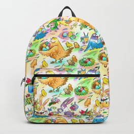 Easter egg party Backpack