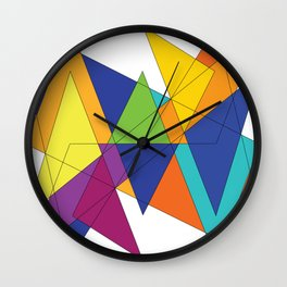 Magic Square 1 Wall Clock