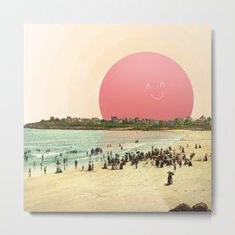 Proud Summer Sun Metal Print