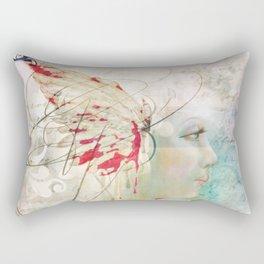 All My Tomorrows Begin Today Rectangular Pillow