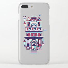 Castle in the Sky 01 Clear iPhone Case