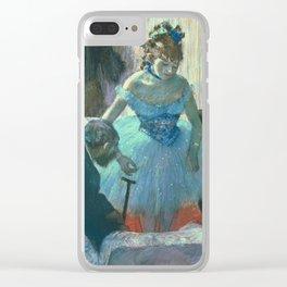 Edgar Degas - Dancer In Her Dressing Room Clear iPhone Case