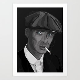 Thomas F'n Shelby - Peaky Blinders Art Print