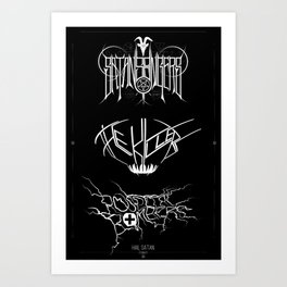 The Best Ever Death Metal Bands Out Of Denton Art Print