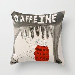 Caffeine Throw Pillow