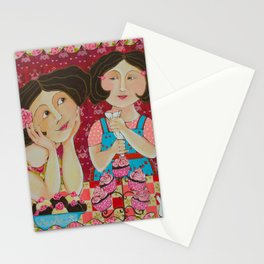 """""""Cupcakes From My Favourite Chef"""" Stationery Cards"""