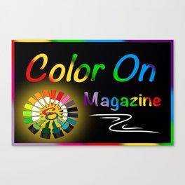 CO Zippered Bag Canvas Print