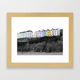 Tenby,Wales, United Kingdom. Framed Art Print