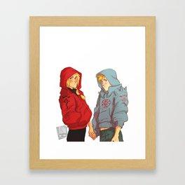 hoodies Framed Art Print