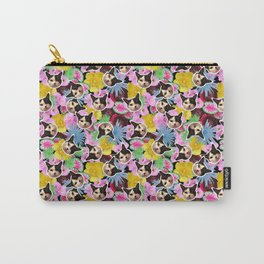 Poppie Cat Carry-All Pouch