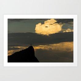Rio's Clouds Art Print