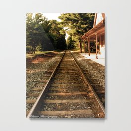 Saying Goodbye Metal Print