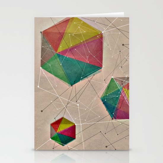 GEOMETRIC IV Stationery Cards