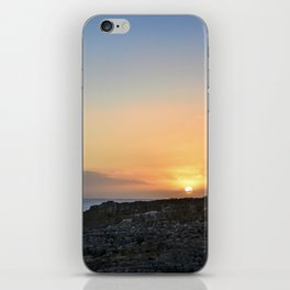 I'll Have a Sunset on the Rocks, Please iPhone Skin