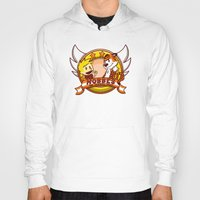 hobbes Hoodies featuring Calvin and Hobbes: Hobbes The Stuffed Tiger by Macaluso