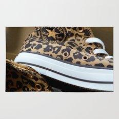 Converse leopard All Stars Rug