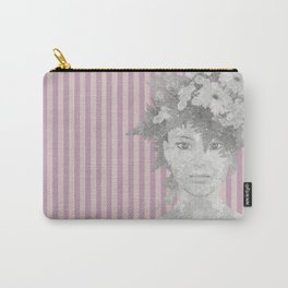 Look at me (romantic flowers vintage) Carry-All Pouch