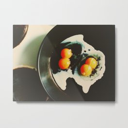 Double Yolk II Metal Print