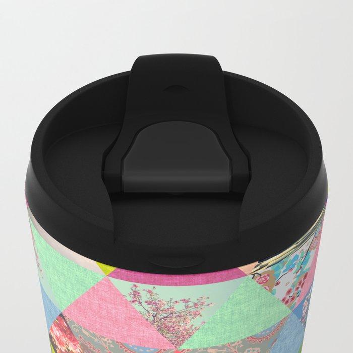 Lost in ▲ Metal Travel Mug