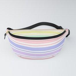 Pastel Rainbow Stripes Fanny Pack