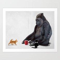I Should, Koko (Wordless) Art Print