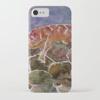 lizard iPhone & iPod Cases featuring lizard by rysunki-malunki