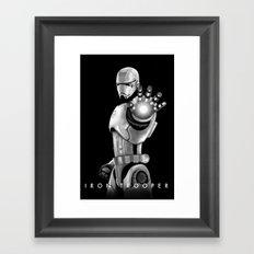Iron Trooper Framed Art Print