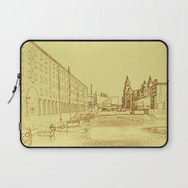 Albert Dock, Liverpool (Digital Art) Laptop Sleeve