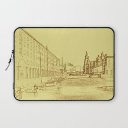 Albert Dock, Liverpool (Digital Art) Laptop Sleeve