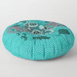 Deep Dive Floor Pillow