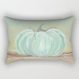 Ready for Fall Cinderella pumpkin Rectangular Pillow
