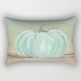Ready for Fall Cinderella pumpkin Rectangular Pillow