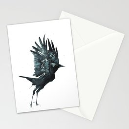 Crow Taking Off Stationery Cards